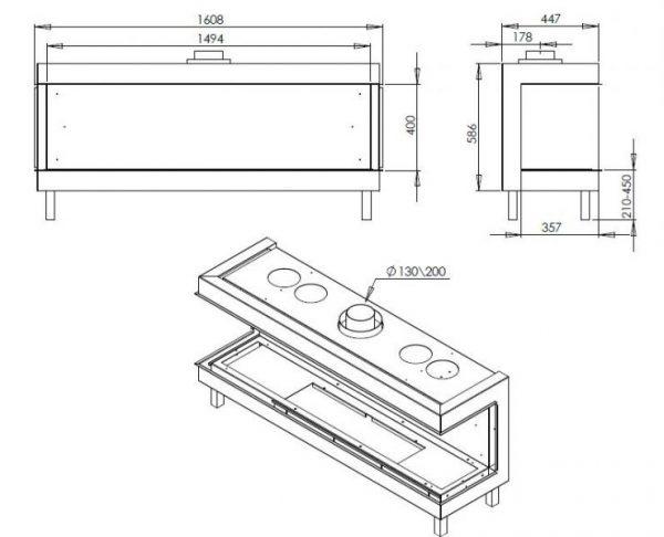 b 600x486 - Ortal Clear 150 TS