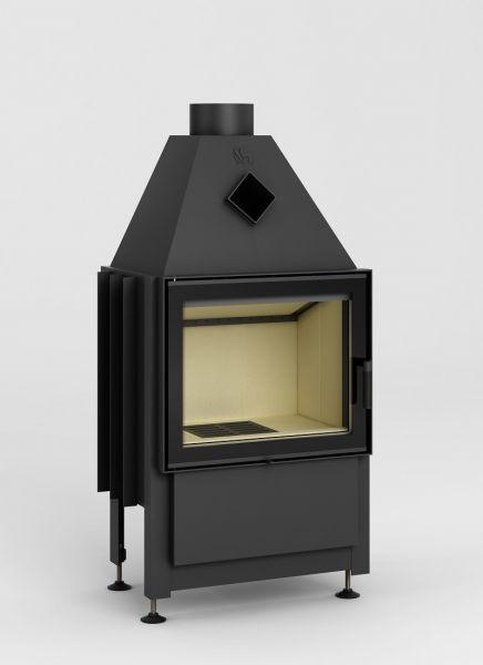 id 17 smart xl - Fireplace insert Hajduk Smart XLT - frameless door