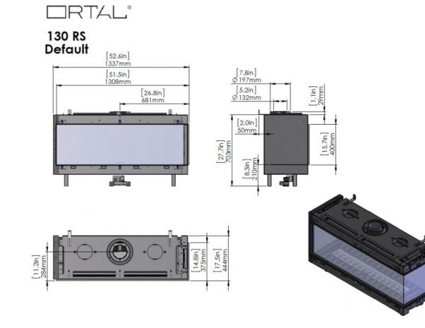 id 2 011ce7ac 600x463 - Ortal Clear 130 RS prawy /LS lewy