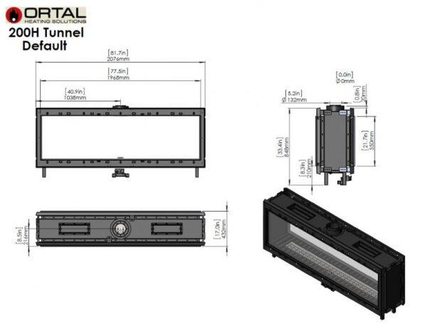 id 2 29e98363 600x455 - Ortal Clear 200 H Tunnel (vis a vis)