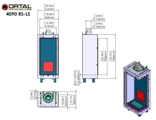 id 2 49d13354 600x460 - Ortal Clear 40x90 RS/LS