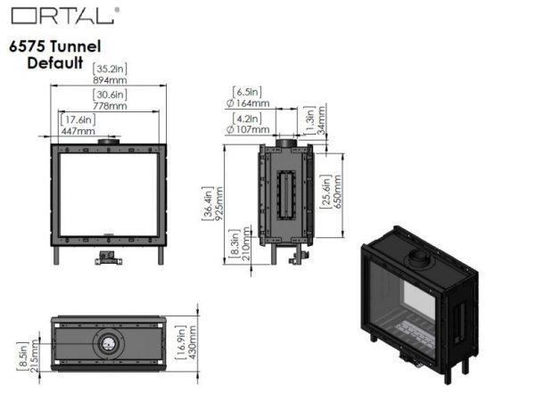 id 2 75e89561 600x460 - Ortal Clear 75x65 Tunnel
