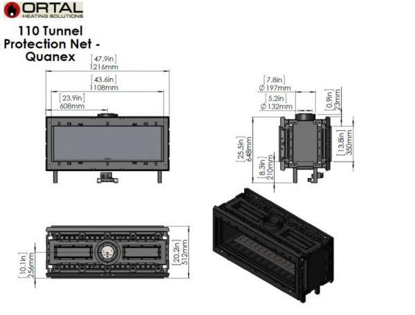 id 2 8b612560 600x455 - Ortal Clear 110 Tunnel