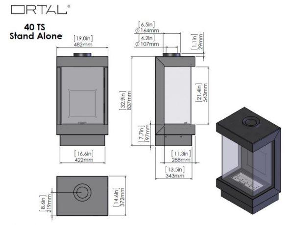 id 2 addd195e 600x460 - Ortal Stand Alone  40 TS