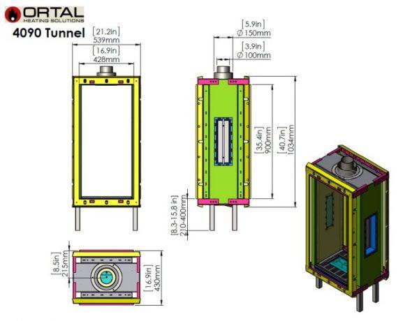 id 2 ce5b8c78 600x460 - Ortal Clear 40x90 Tunnel