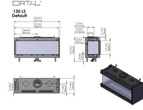 id 3 c4db2426 600x463 - Ortal Clear 130 RS prawy /LS lewy