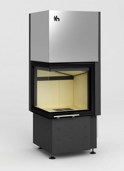 id 30 smart 2lth - Fireplace insert Hajduk Smart 2LTh - frameless door