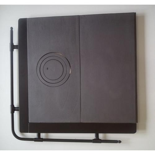 komplet czarn 3 500x500 - SporákovY rám čierny 70X70  liatinovými platňami