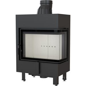 lucy 12 prawy bs 300x300 - Fireplace insert LUCY 12 right BS
