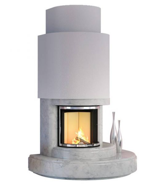 marmorkamin mallorca edle optik ergaenzt von ausgereifter technik 8e5 - Kominek  marmurowy Mallorca