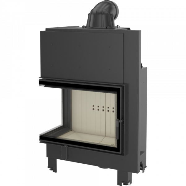 mba l2 600x600 - Fireplace insert MBA 17 lewy BS