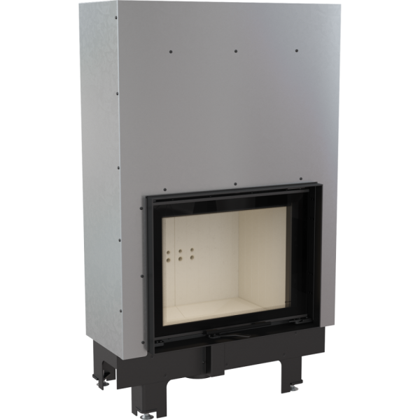 mbm pw 10 gilot 600x600 - Water fireplace insert MBM 10 PW guillotine