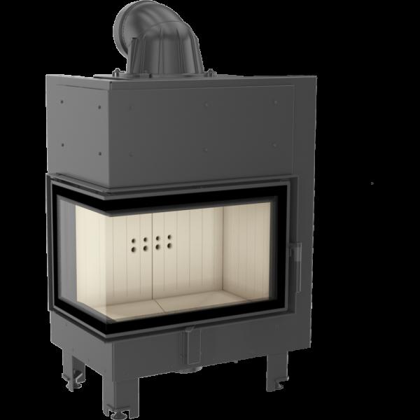 mbm10 lewy 600x600 - Fireplace insert MBM 10 left BS