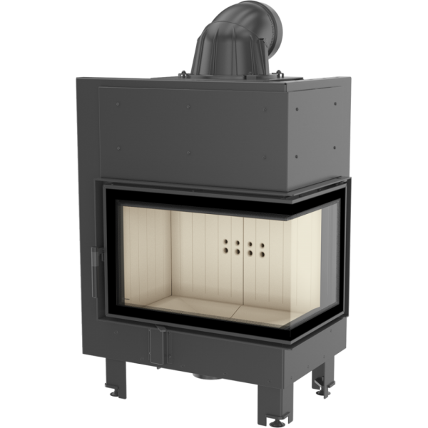 mbm10prawy 600x600 - Fireplace insert MBM 10 right BS