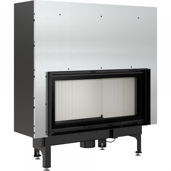 nadia 14 g 600x600 - Fireplace insert NADIA 14 guillotine