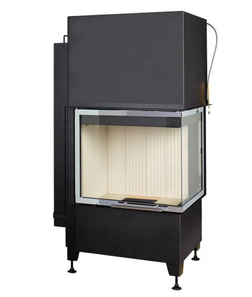 radiante 550 20 57 66 44 h ecoplus 92c - Wkład kominkowy Radiante 550/20/57-66.44 H WW ECOplus prawy
