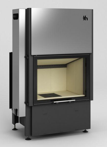 volcano 1vth - Fireplace insert Hajduk Volcano 1VTh - frameless door