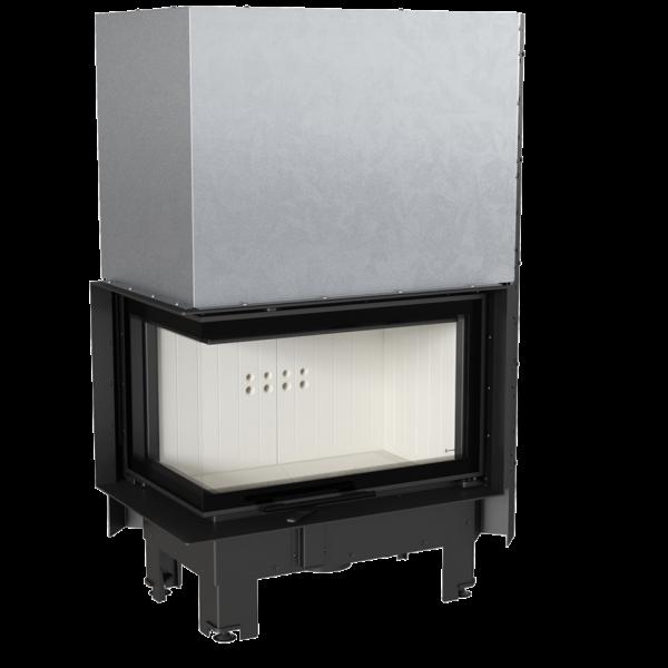 www kominek powietrzny mbm l bs g 1 960 960 1 0 0 600x600 - Fireplace insert MBM 10 left BS guillotine