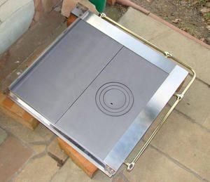 zestaw rama kuchenna z plytami zeliwnymi 300x259 - Rama lux mosiężna rurka z płytami