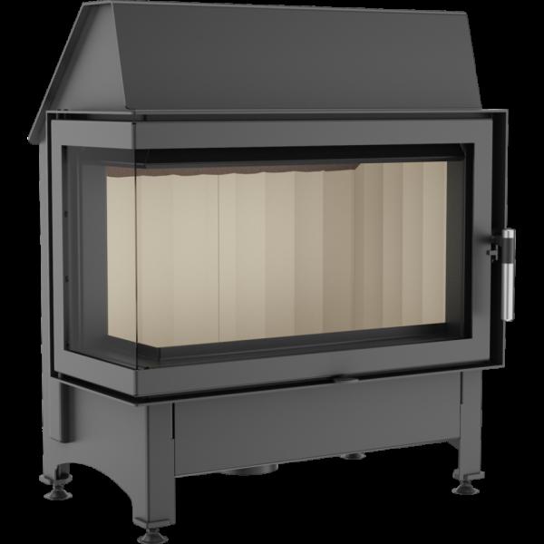 zibi lewy 600x600 - Fireplace insert ZIBI 12 left BS