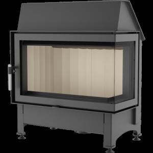 zibi prawy 300x300 - Fireplace insret ZIBI 12 right BS