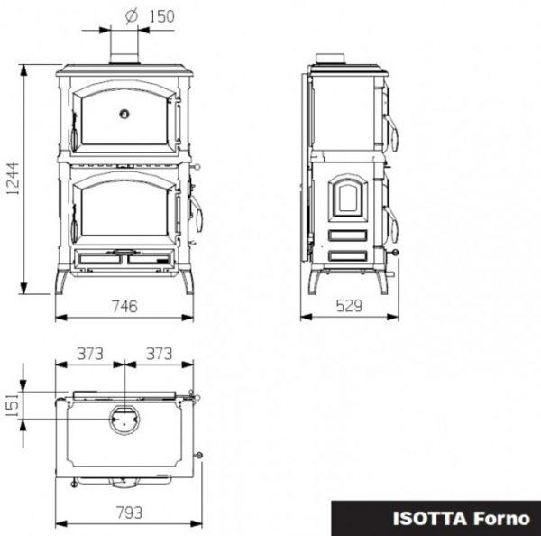 b shop8 60 600x594 - LaNordica Extraflame Isotta Forno