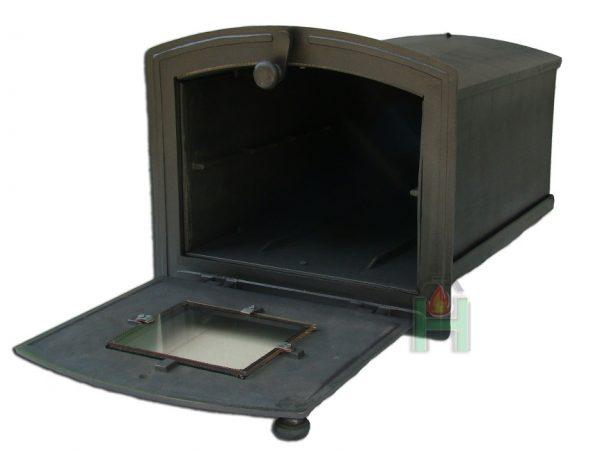34bd154b305cbfd2a590cd327c5a6357 600x450 - Piekarnik żeliwny z szybą i termometrem