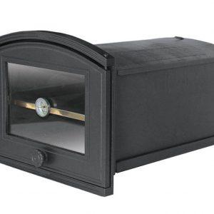 6517a74dfedf0784070c53d11786b944 300x300 - Piekarnik żeliwny z szybą i termometrem PŻE2T ( otwierany w prawo)