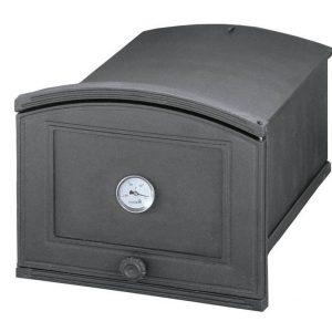 8341a67c11f2a571ee7cf17099a20cf6 300x300 - Piekarnik żeliwny z termometrem PŻEP2T ( otwierany w prawo)