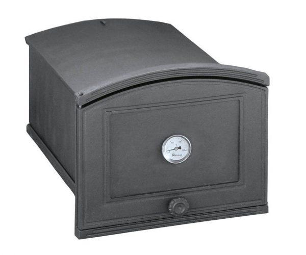 ad6c3f27f7afee79e980871918de3103 600x500 - Piekarnik żeliwny z termometrem PŻEP1T ( otwierany w lewo)