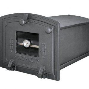 b33092bae01cc2973ad0dba4eb2116fe 300x300 - Piekarnik żeliwny z szybą i termometrem