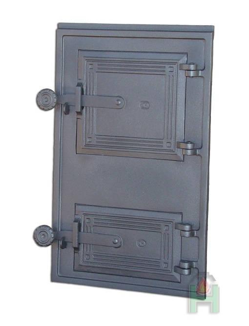 dpk 11 - Drzwiczki żeliwne kuchenne  DPK 11 z wkładką