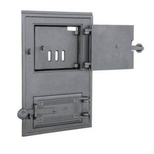 dpk 11a 300x300 - Drzwiczki żeliwne kuchenne  DPK 11 z wkładką