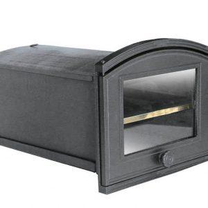 pxze1 300x300 - Piekarnik żeliwny z szybą PŻE1 ( otwierany w lewo )