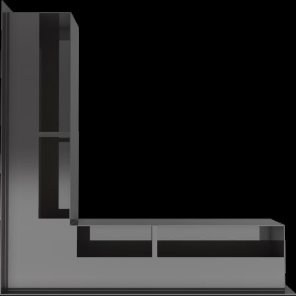 luft ns 90 c sf 3 960 960 1 0 0 600x600 - LUFT SF corner black 56x56x9