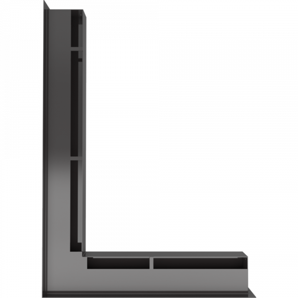 www kratka luft nl 60 c sf 3 960 960 1 0 0 600x600 - LUFT SF corner left black 76,6x54,7x6
