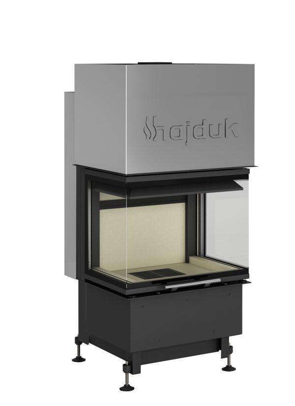 Smart 3XLTh 600x826 - Wkład kominkowy Hajduk Smart 3XLTh