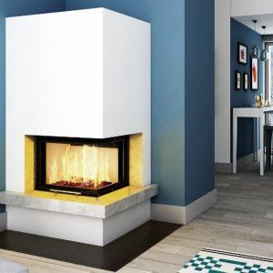 Kominek Imperial Extra 10 cm blat Volcano 2pTh51 1024x575 300x300 - Fireplace complete Imperial Extra 2PTH ver2