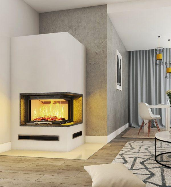 Kominek Imperial Extra 3 cm blat Volcano 2PTh51 1024x803 600x656 - Fireplace complete Imperial Extra 2PTH