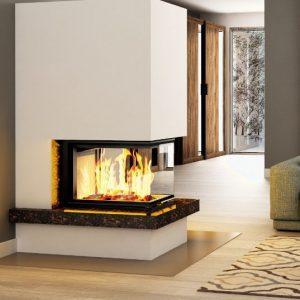 Kominek Royal Extra 300x300 - Fireplace complete Royal Extra 3PLUh
