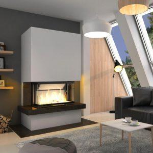 Kominek Royal ExtraVolcano 3BT 300x300 - Fireplace complete Royal Extra 3BTh