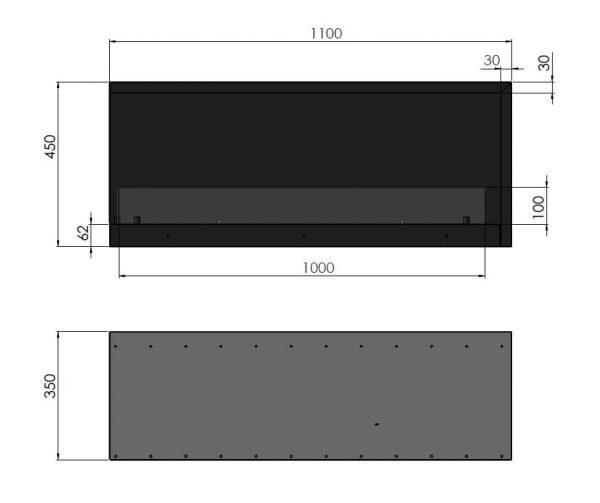 wymiar l 1100 1 600x503 - Infire INSIDE L 1100 Vers2