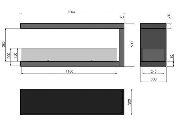 wymiaryU1200.2 600x414 - Infire INSIDE U1200.2