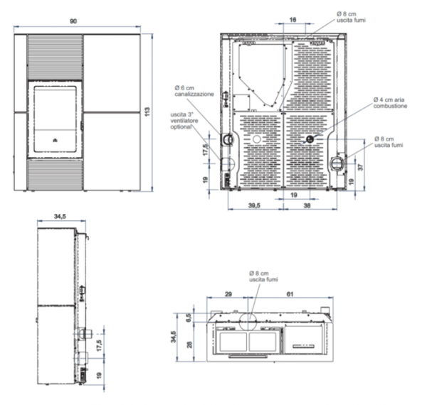 sp bl01 d Kopia 600x570 - Piecyk Blade 12,1 kW Steatyt