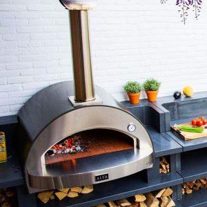 4 pizze outdoor living garden pizza oven 1200x750 Kopia 300x300 - Piec do pizzy Alfa Forni 4 PIZZE szary