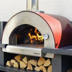 5 minuti pizza oven compact in size it can cook meals in only 5 minutes. 1200x750 300x300 - Piec do pizzy Alfa Forni 5 MINUTI Czerwony