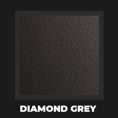 DIAMOND GREY - Piec do pizzy Alfa Forni 4 PIZZE szary z podstawą