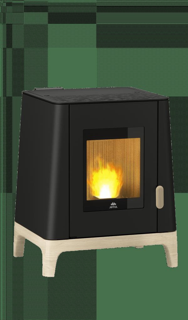JØTUL PF 500 Acier Peint noir Avec Flamme Naked Web – Kopi 600x1020 - Piecyk na pellet  Jøtul PF 500