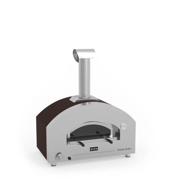 Stone Oven3 600x600 - Hybrydowy piec do pizzy Alfa Forni Stone Oven (na gaz i drewno)