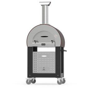 base 5minuti alfaforni wood fired pizza oven black 1 300x300 - Piec do pizzy Alfa Forni 5 MINUTI Miedziany z podstawą